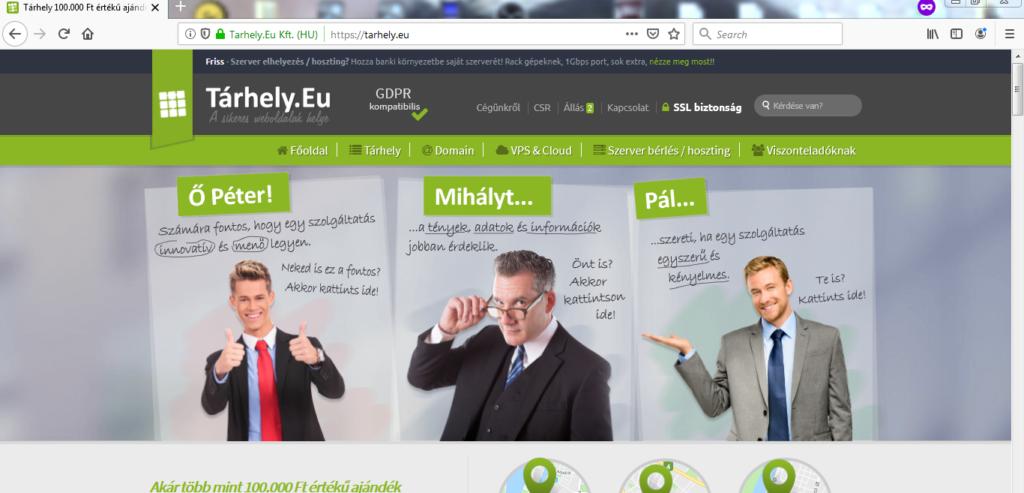 tathely.eu_tarhelyszolgáltatás